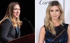 La pelea de las hijas de Clinton y Trump