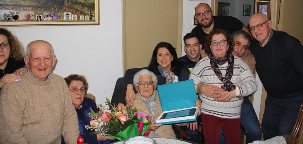María Josefa cumple 100