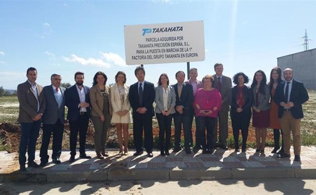 El grupo japonés Takahata elige La Carolina instalar su primera fábrica en Europa