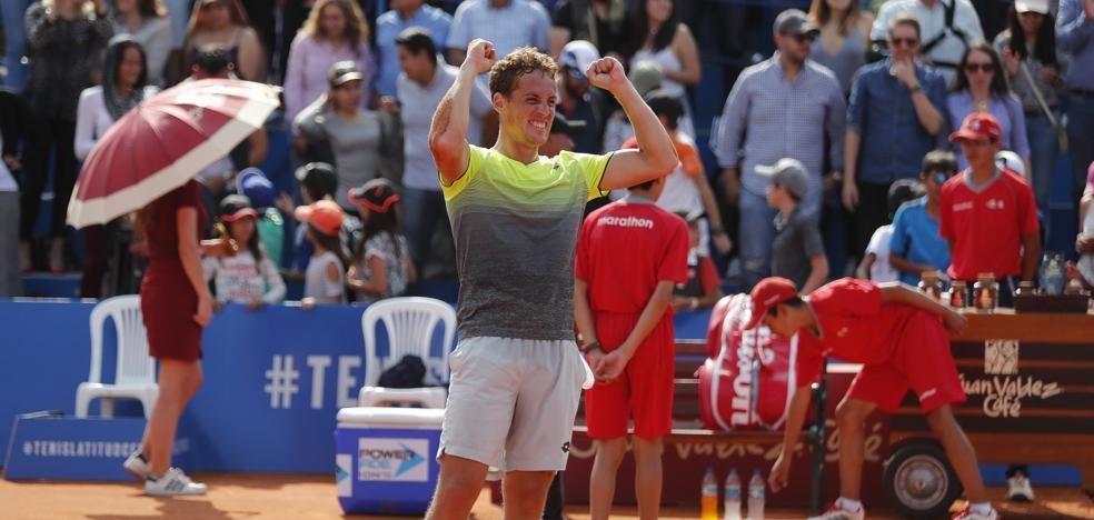 El granadino Roberto Carballés, en la élite mundial del tenis