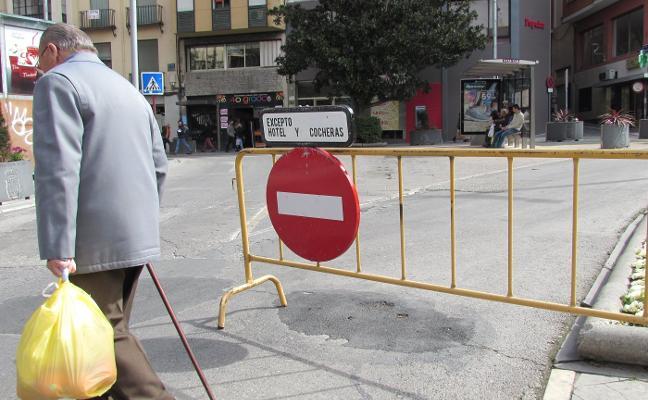 El comercio pide medidas urgentes correctoras de la peatonalización