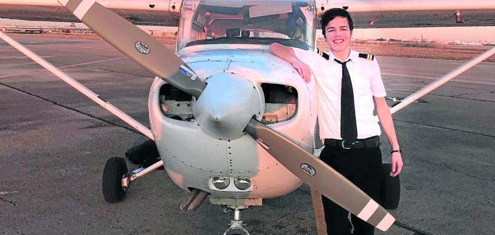 El crack español de 17 años que va a ser piloto ya mismo