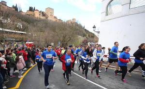 La carrera solidaria del Padre Manjón muestra las estampas más bellas de Granada