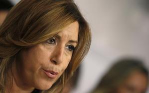 """Susana Díaz envía su """"apoyo y cariño"""" a los padres de Gabriel tras el hallazgo del cuerpo"""