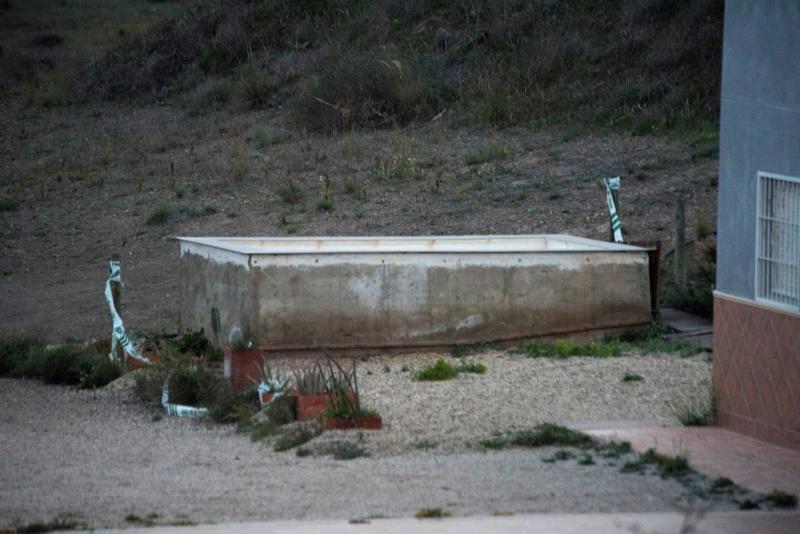 Así es el pozo donde estuvo el pequeño Gabriel