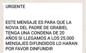 El bulo sobre la muerte de Gabriel que está compartiendo por Whatsapp millones de españoles
