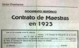 """El contrato para maestras de 1923 que invade Whatsapp: 14 cláusulas """"indecentes"""""""