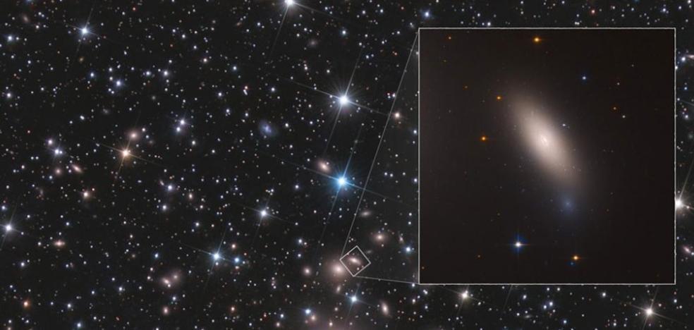 Hallan una «reliquia» nunca encontrada en el universo: una galaxia intacta
