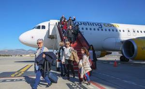 El aeropuerto de Granada cerró febrero con un aumento del 32% de pasajeros