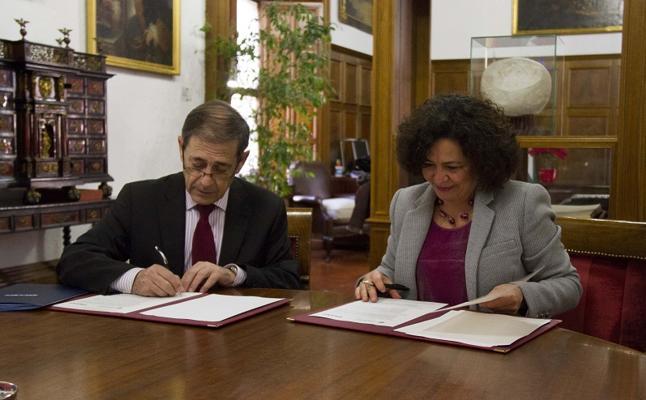 La Universidad de Granada y ESCOEM SLP firman un convenio para desarrollar actividades de emprendimiento