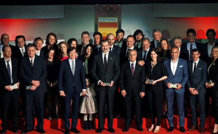 Homenaje a los héroes de los Juegos Olímpicos de Barcelona