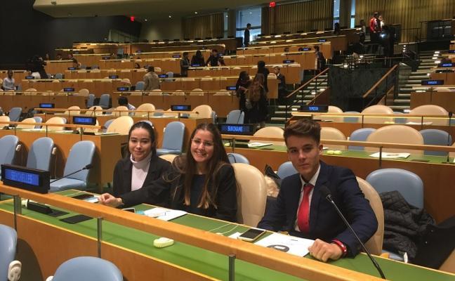 Vuelo con destino a las Naciones Unidas