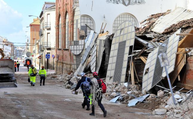 El día después del derrumbe