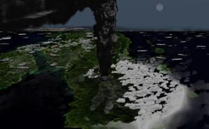 Los humanos primitivos que sobrevivieron al «invierno volcánico»