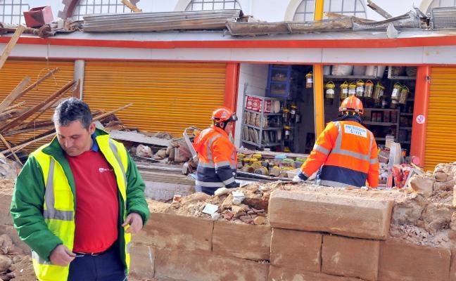 Los informes técnicos aprueban la reconstrucción del mercado de abastos
