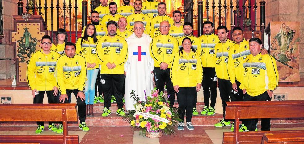 Todo preparado para que el Jaén FS ponga rumbo a Madrid