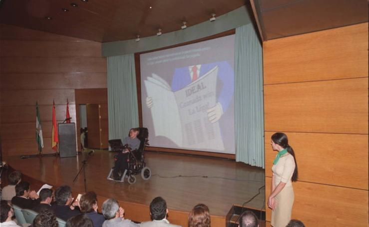 Visita de Stephen Hawking a Granada