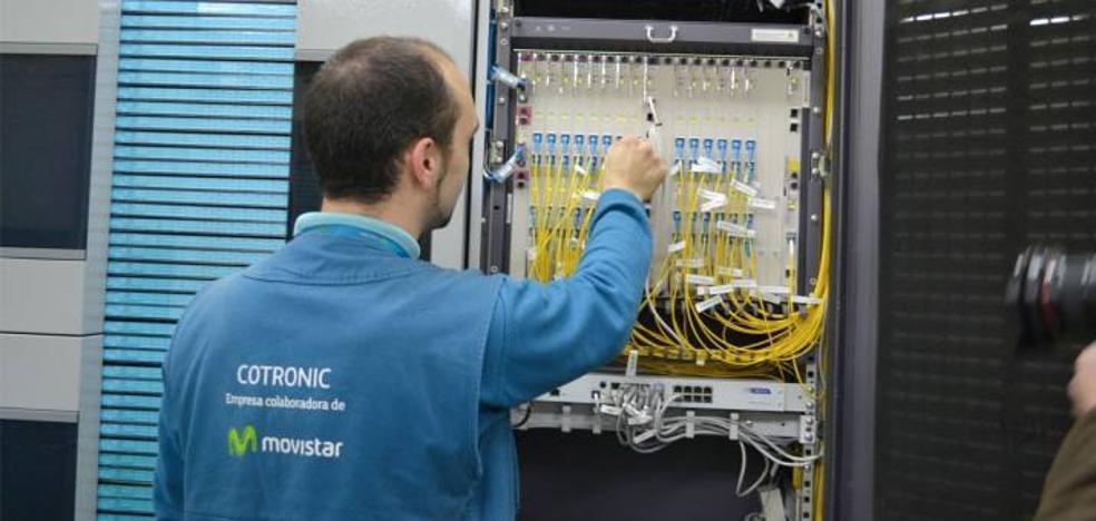 Una avería hace fallar la fibra óptica en 400 hogares de Granada