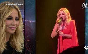 Marta Sánchez confiesa lo nuevo que hará con el himno de España en 'El Hormiguero'