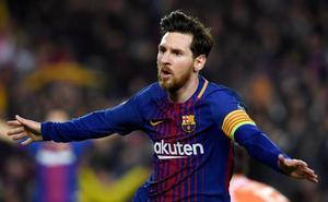 Recital de papá Messi