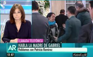 """La aplaudida llamada de la madre de Gabriel a Ana Rosa para pedir """"respeto"""" por su hijo"""