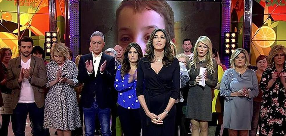 Piden hacer boicot a 'Sálvame' por su tratamiento del asesinato de Gabriel