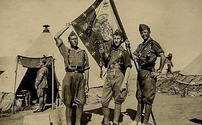 La VIII Bandera 'Colón' de la Legión conmemora el 92 Aniversario de su bautismo de fuego