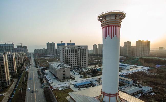 El descomunal aspirador del cielo para reducir la contaminación