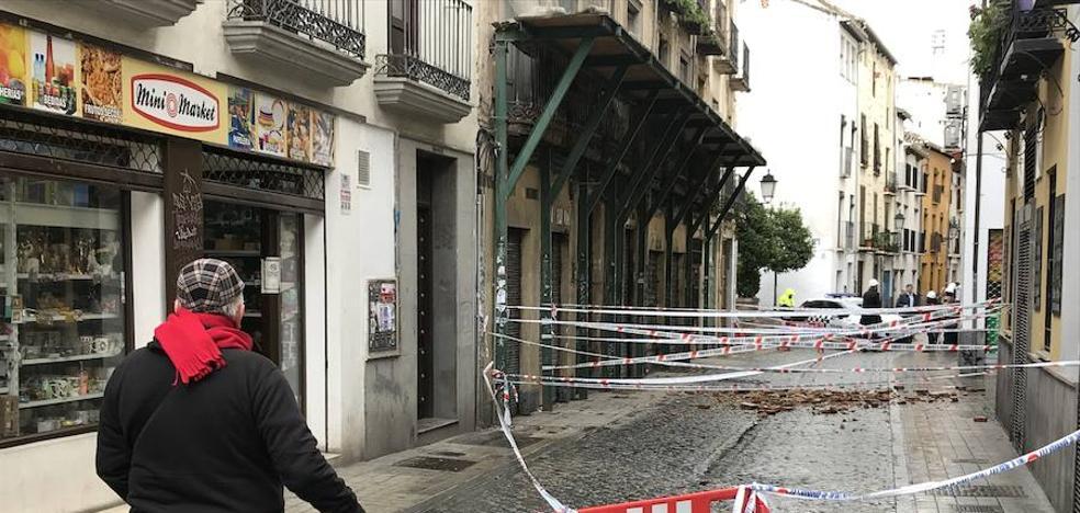 La calle Elvira permanecerá cortada todo el día