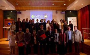 La rectora Pilar Aranda preside la final del concurso '3 Minute Thesis' en la Universidad de Granada