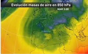 Mario Picazo y otros meteorólogos avisan del radical cambio del tiempo: frío siberiano con 12 grados menos