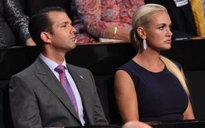 Una nuera de Trump pide el divorcio