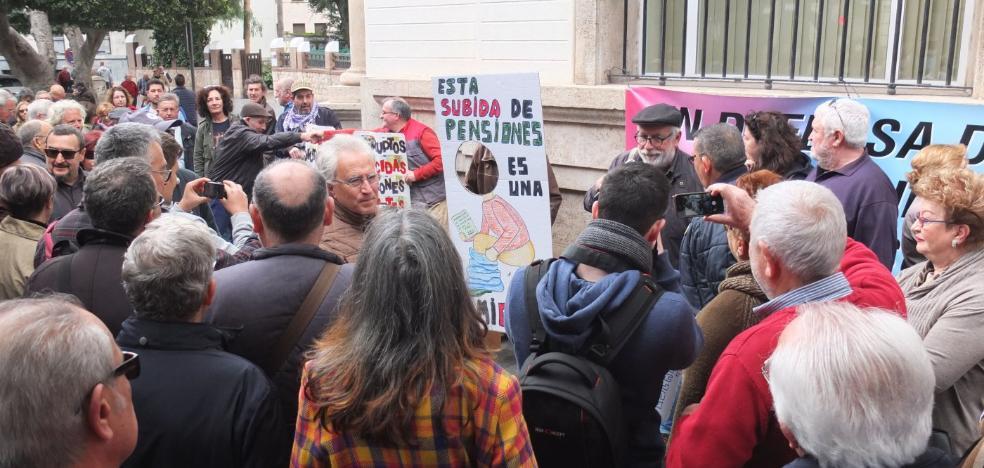 Almería está convocada hoy para pedir unas pensiones «dignas»