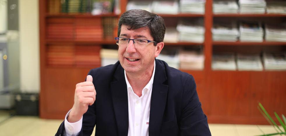 Juan Marín: «No sé si Luis Salvador u otros aspiran a ser el candidato de Ciudadanos a la Junta. Yo sí me voy a presentar»