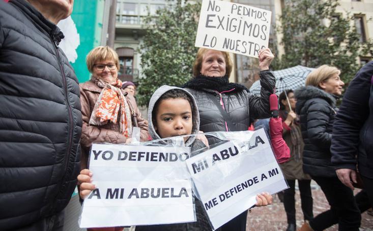 Granada, en la calle por unas pensiones dignas