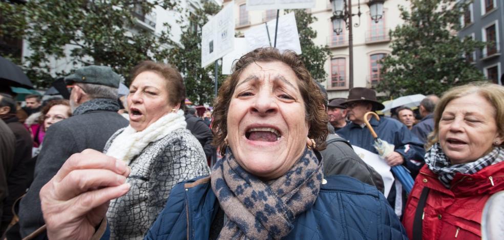 Los pensionistas se mojan