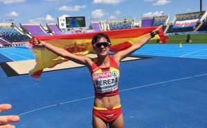 María Pérez queda campeona de España absoluta de marcha