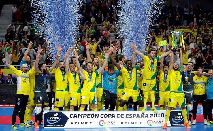 El Jaén Paraíso Interior gana la Copa de España 2018