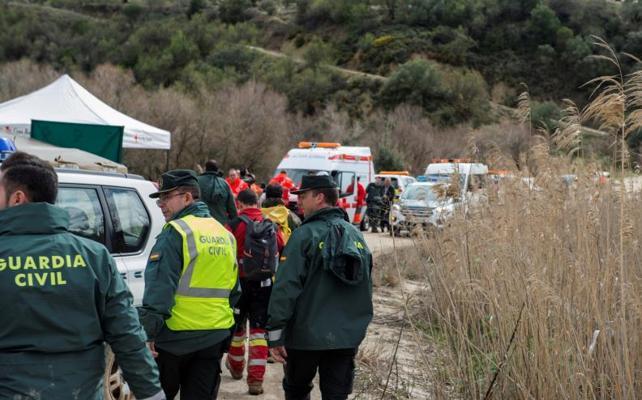 Encuentran el cuerpo sin vida del motorista desaparecido en Martos