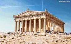 Monumentos de la Antigüedad de todo el mundo recreados en animaciones