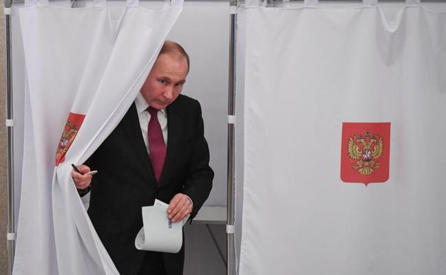 Abren los colegios electorales para las presidenciales en el extremo oriente ruso