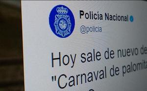 La Policía advierte sobre la cadena de Whatsapp de moda en España: el vídeo del carnaval de las palomitas
