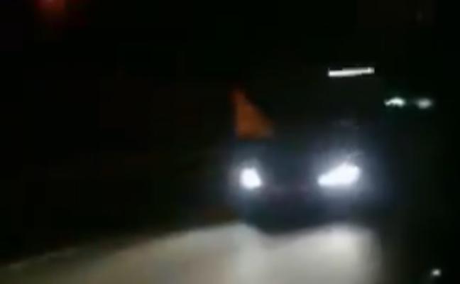 'Cazan' a un kamikaze que iba a 300 kms/h en una carrera ilegal