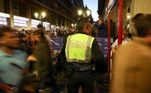 Mil policías y barreras para garantizar la seguridad en la Semana Santa de Granada