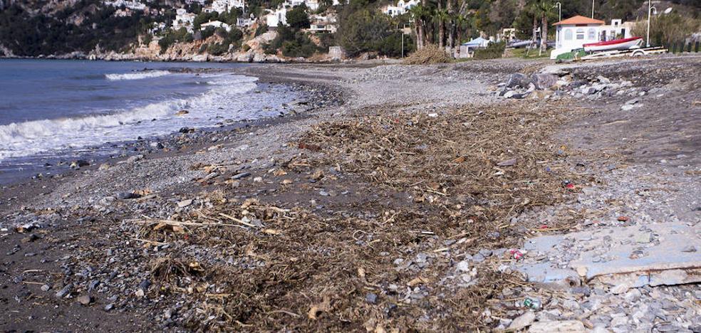 Las playas empiezan a recuperarse después del temporal