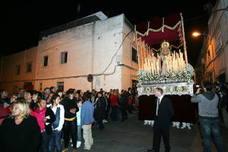 Itinerarios de las procesiones del Sábado de Pasión en Almería