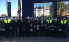 La Policía Local de la capital incorpora cinco nuevos vehículos
