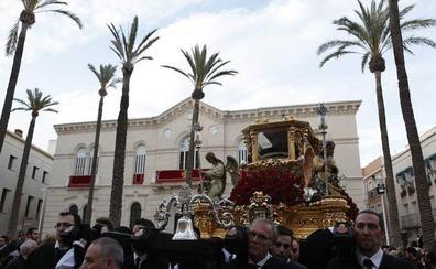 Itinerarios de las procesiones del Viernes Santo en Almería