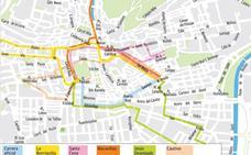 Guía del Domingo de Ramos en Granada: mapa de itinerarios, horarios y recorridos de las procesiones