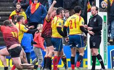 La Federación Rumana pide que se sancione a los jugadores españoles